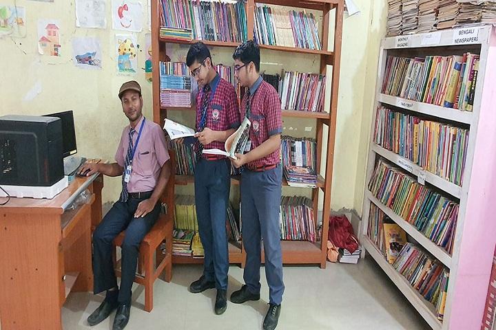 Kamal Kumari Devi Model School-Library