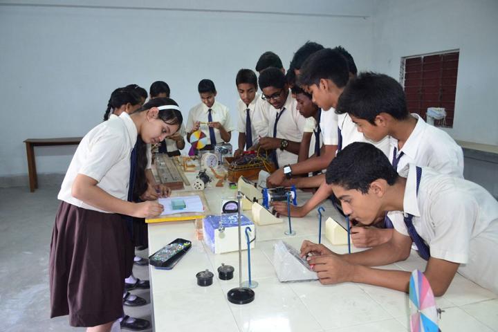 Kashinath Lahiri Public School-Laboratory physics