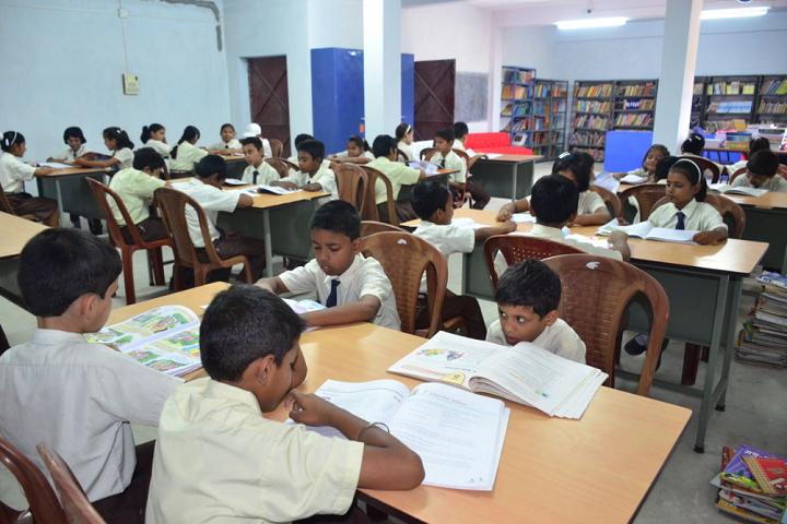 Kashinath Lahiri Public School-Library with reading room