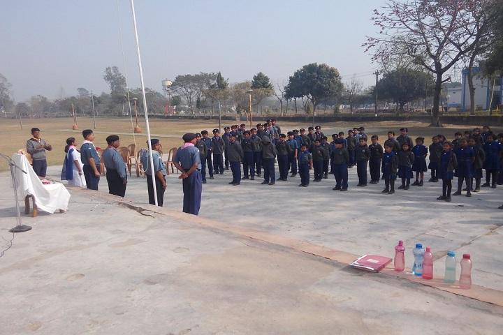 Kendriya Vidyalaya-Assembly Ground