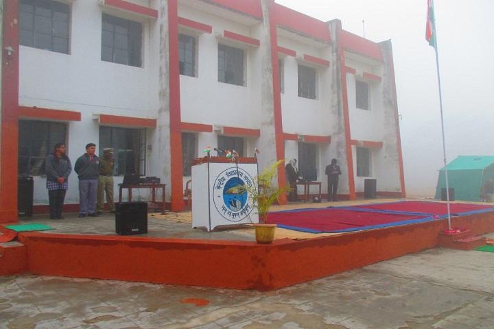 Kendriya Vidyalaya-Assembly Stage