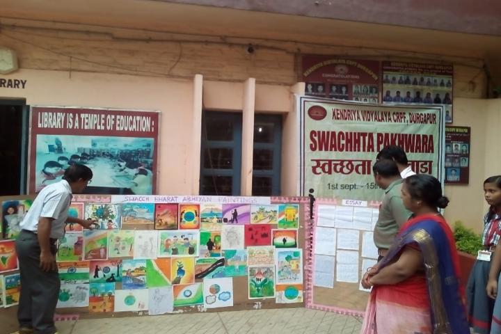 Kendriya Vidyalaya-Art Exhibition