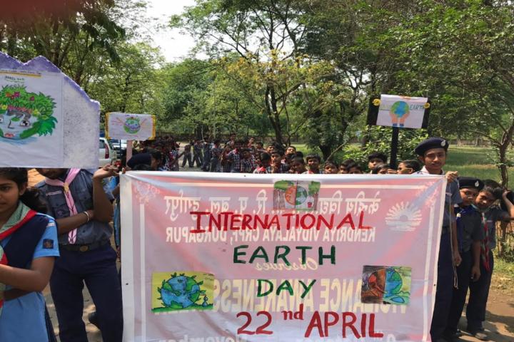 Kendriya Vidyalaya-International Earth Day