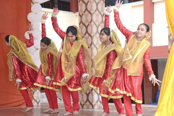Bharat Mata Senior Secondary School-Dance Performance