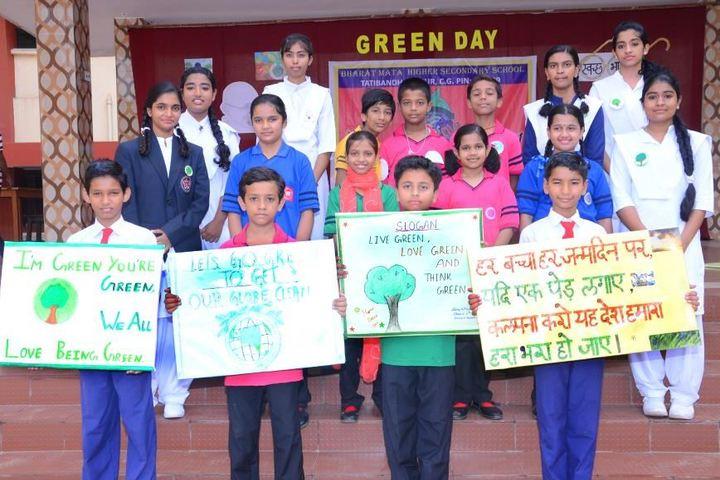Bharat Mata Senior Secondary School-Green Day