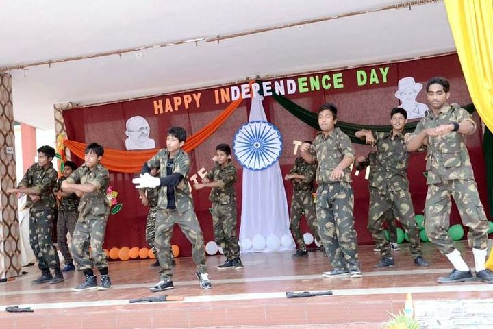 Bharat Mata Senior Secondary School-Independence Day