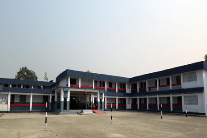 Kendriya Vidyalaya-School assembly ground