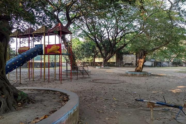 Kendriya Vidyalaya-Primary Section Playing area