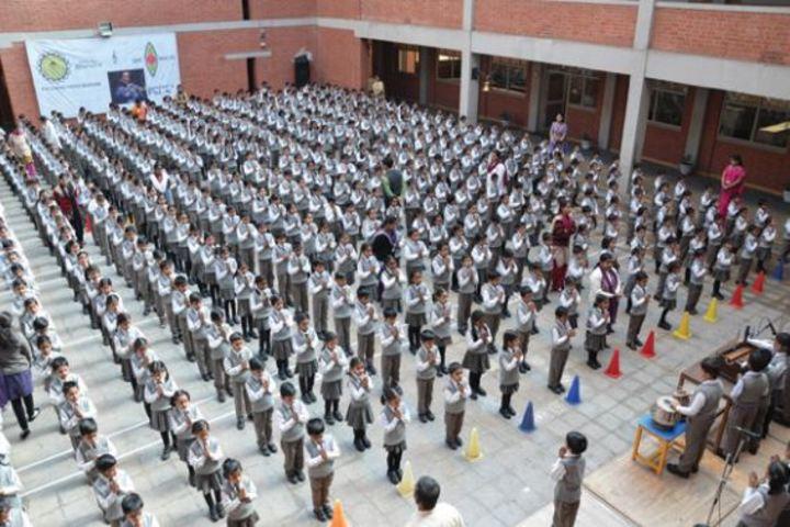 Bhavans Ram Kishore Sarda Vidya Mandir-Assembly