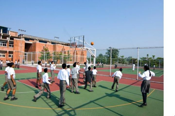 Bhavans Ram Kishore Sarda Vidya Mandir-Basket Ball Court