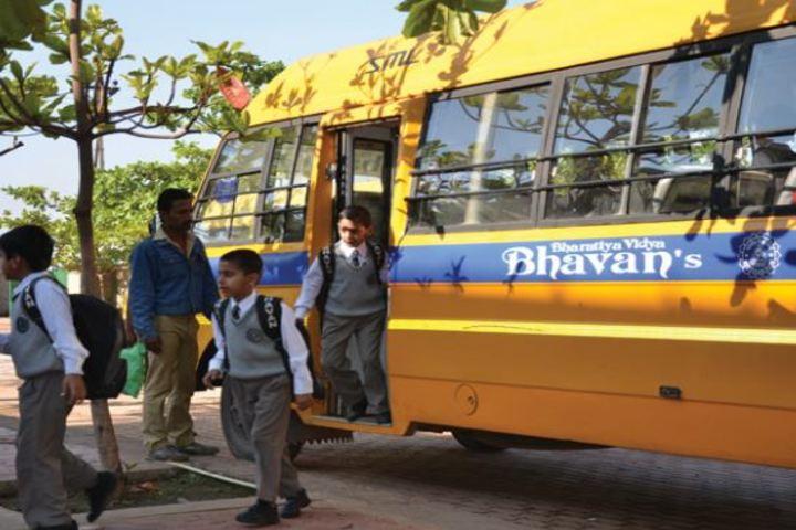 Bhavans Ram Kishore Sarda Vidya Mandir-Transport