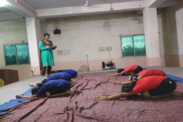 Khalsa Model Senior Secondary School-Yoga