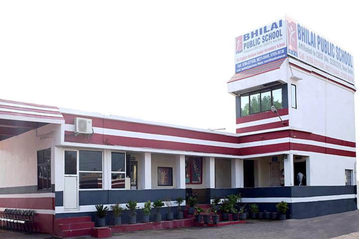 Bhilai Public School-School Building