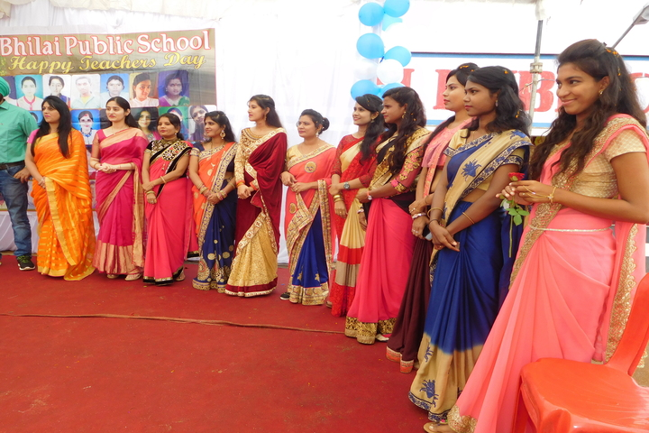 Bhilai Public School-Teachers Day Celebration