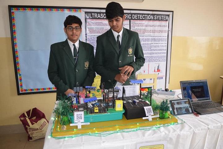 Lakshmipat Singhania Academy-School Exhibition
