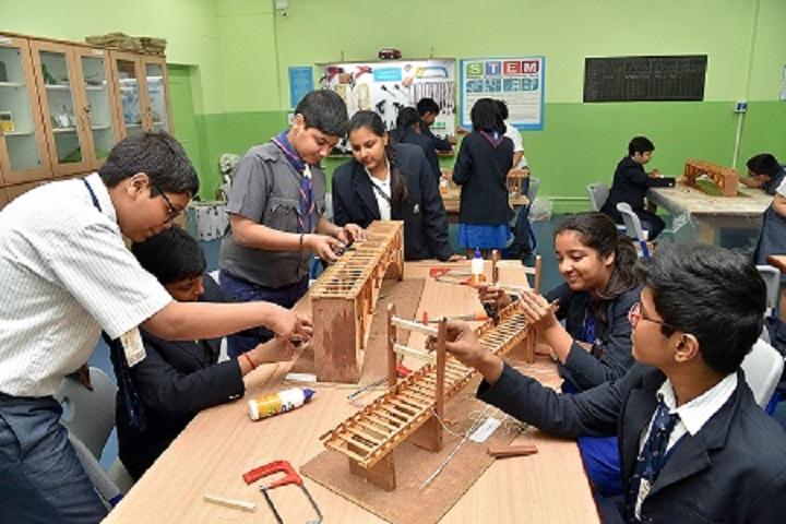 Lakshmipat Singhania Academy-Tinkering Lab
