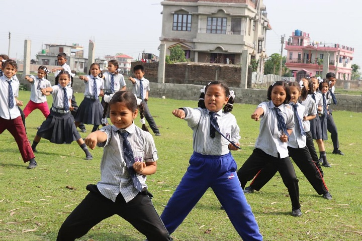 Little Angels School-Karate Class