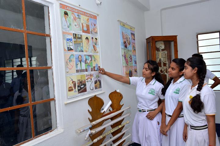 Nirmaan Vidya Jyoti School-Bio Lab