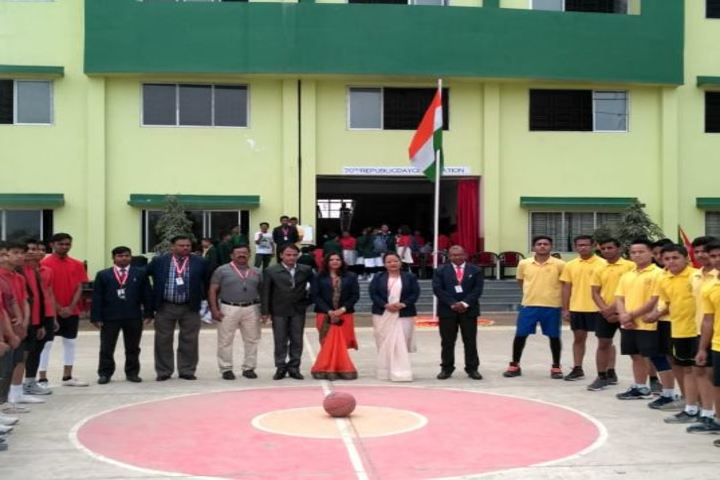 North Point Secondary School-Flag Hoisting