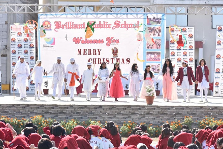 Brilliant Public school- Christmas day celebrations