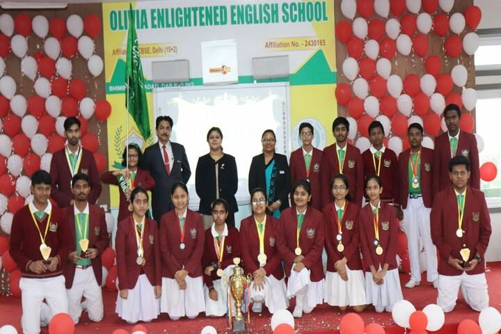 Olivia Enlightened English School-Champions