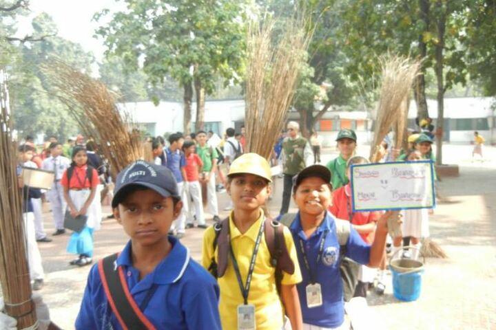 Priyadarshini Public School-Cleaning Camp
