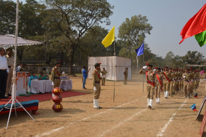 BSP SR SECONDARY SCHOOL parade