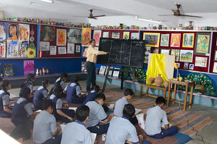 S K S Public School-Art Room