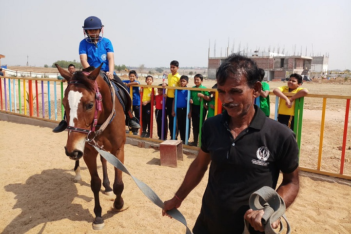 Saraswati Devi International School-Horse Riding