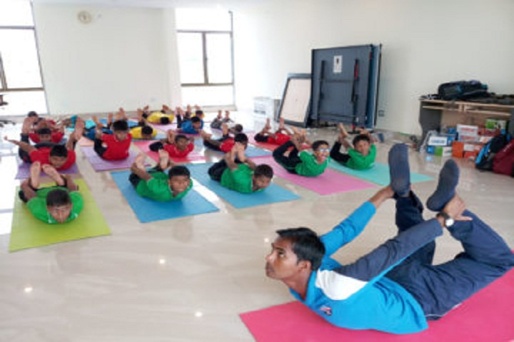 Saraswati Devi International School-Yoga