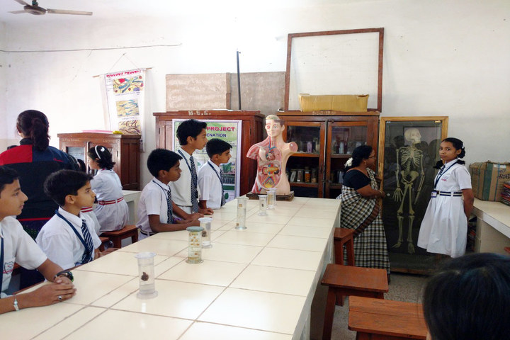Burgess English Higher Secondary School-Biology Lab