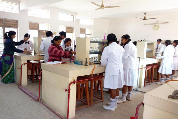 Burgess English Higher Secondary School-Chemistry Lab