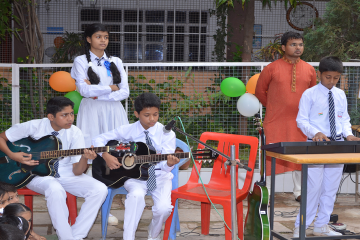 Burgess English Higher Secondary School-Music Performance