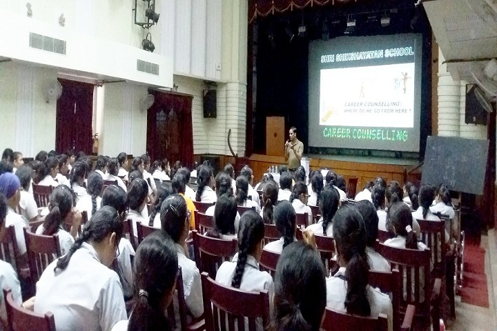 Shri Shikshayatan School-Career Counciling