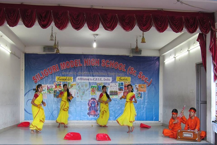 Siliguri Model High School-Festival Celebration