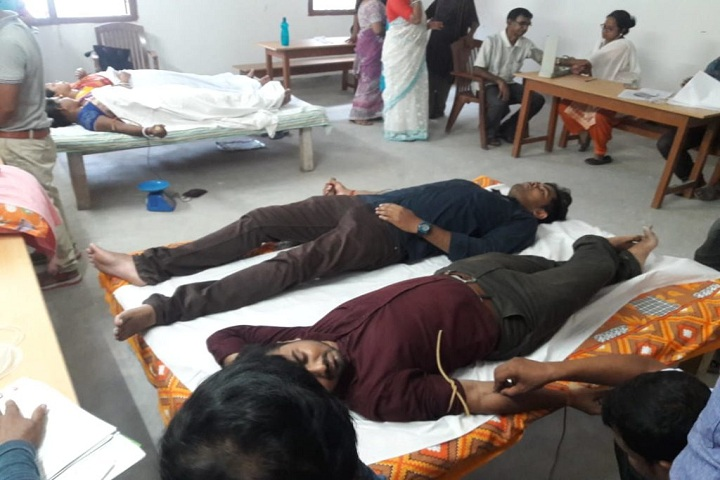 Sister Nivedita Public School-Blood Donation Camp