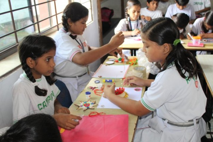 Campion School Raipur-Art And Craft