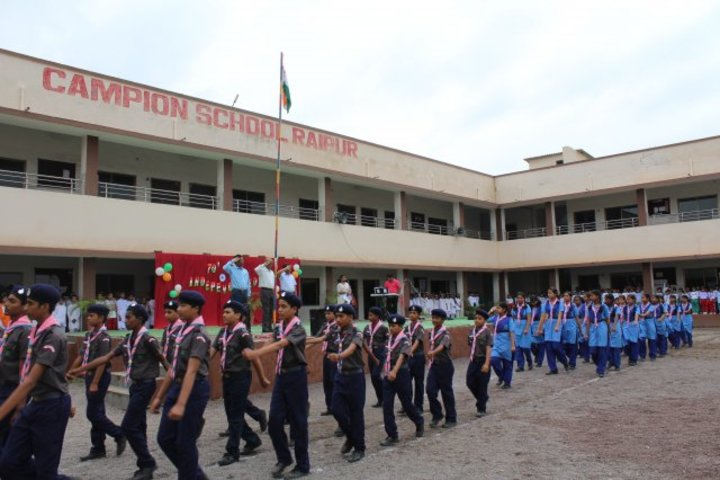 Campion School Raipur-Independence Day
