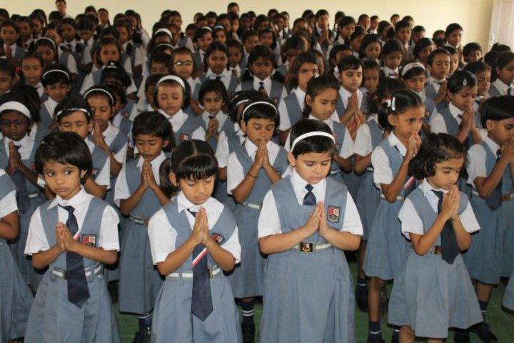 Campion School Raipur-Morning Assembly