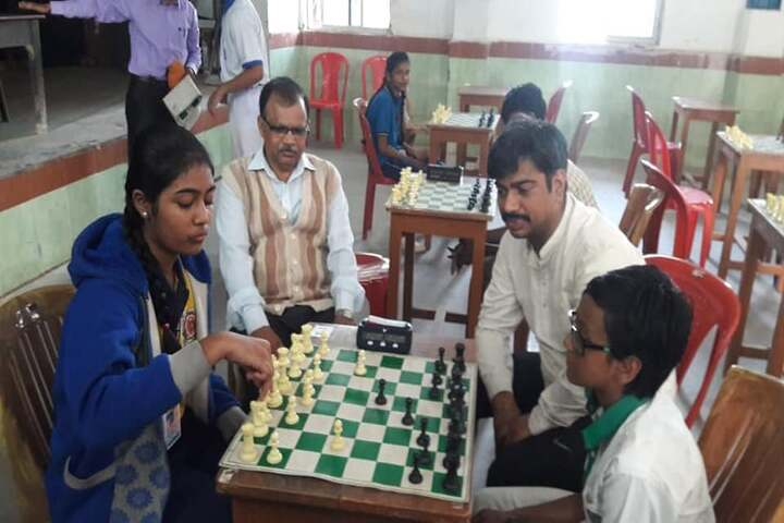 South Eastern Railway Mixed High School-Chess