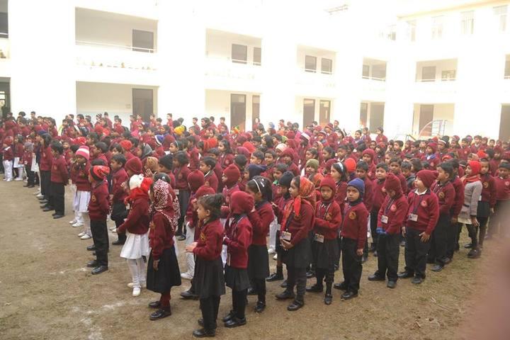 Srihari Global School-Assembly