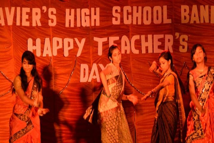 St Xaviers High School-Teachers day
