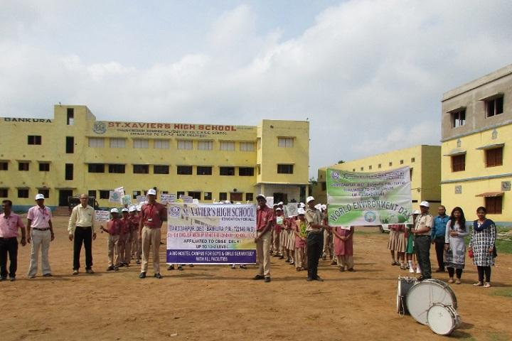 St Xaviers High School-World Environment day
