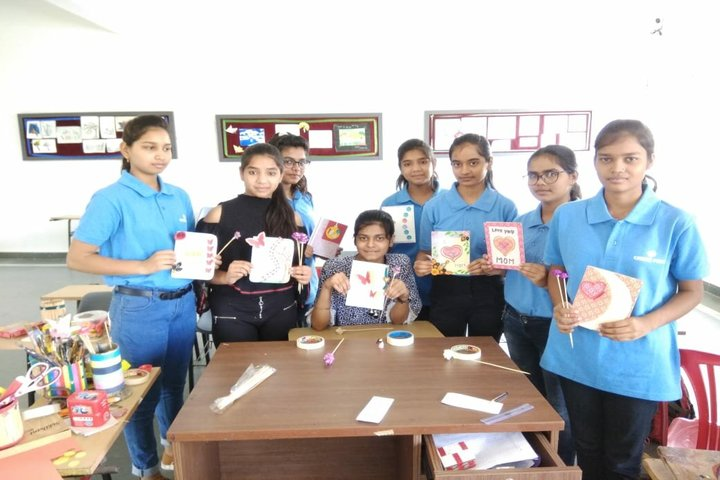 Career Point World School-Artwork Done By Our Boarders