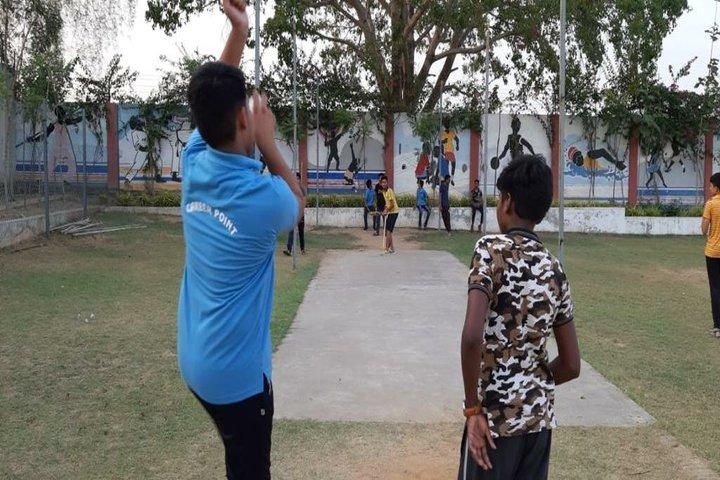 Career Point World School-Cricket