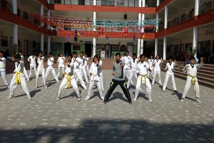 Techno India Group Public School-Karate