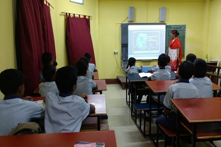 Techno India Group Public School-Smart Classroom