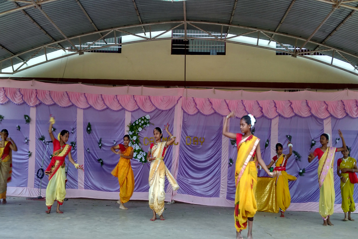 Carmel Convent School Mahasamund-Carmel Day Dance