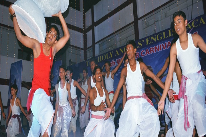 The Holy Angels English Academy-Dance