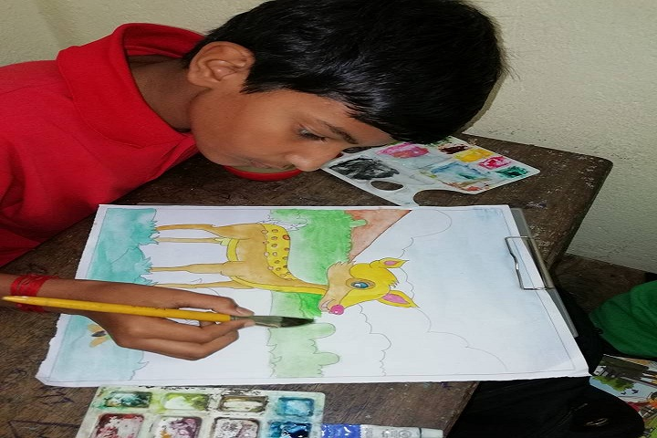 The Holy Angels English Academy-Drawing